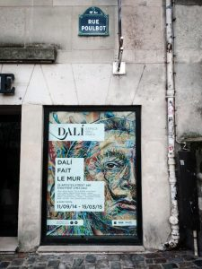 Dali poster, Montmartre - The Dinocorn Life