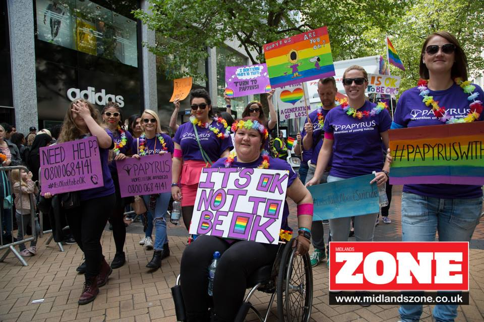 Papyrus in Midlands Zone - Birmingham Pride 2016 - The Dincorn Life