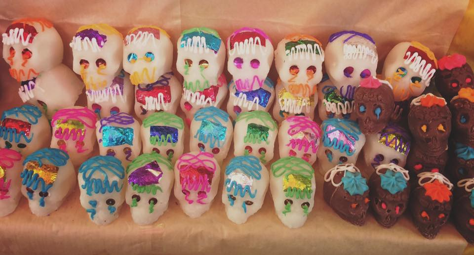 Sugar Skulls, Dia de los Muertos, Mexico City - The Dinocorn Life