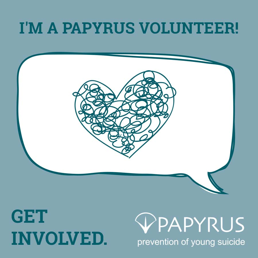 Get Involved - Volunteer with PAPYRUS